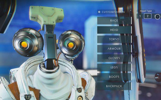 See the weird heads, helmets, and beaks of No Man's Sky Next's player customization