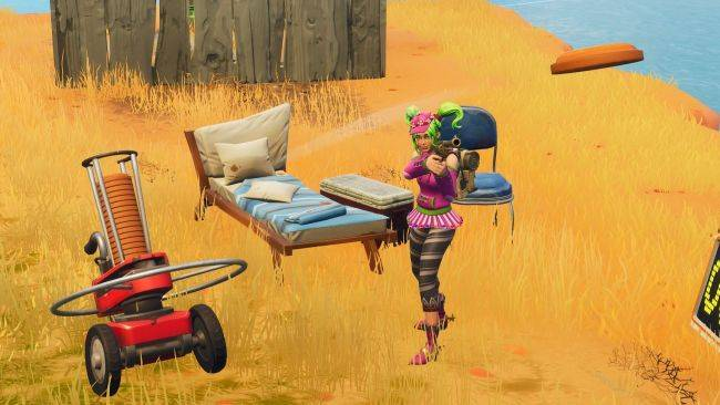 Where to find Fortnite's 6 clay pigeon throwers