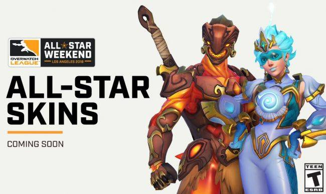 Two new Overwatch skins revealed at OWL Grand Finals