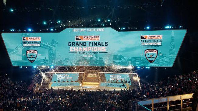 The London Spitfire win the Overwatch League inaugural Grand Finals