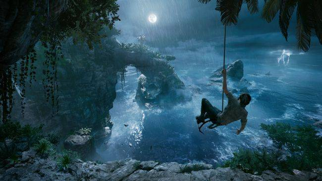 Shadow of the Tomb Raider video shows Lara's new climbing techniques