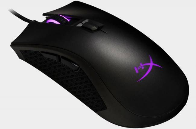 HyperX upgrades its Pulsefire FPS mouse with a better sensor and RGB lighting