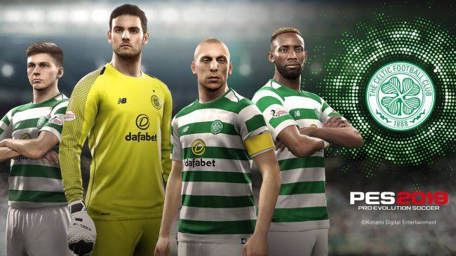 PES 2019 unveils Celtic FC as latest official partner club