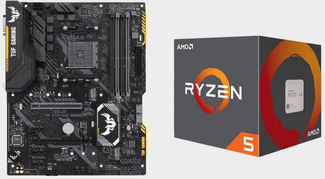 Get a Ryzen 5 2600X and Asus TUF X470-Plus Gaming motherboard for $320