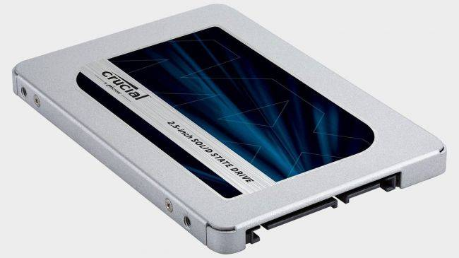 Get a Crucial MX500 500GB solid state drive for $100