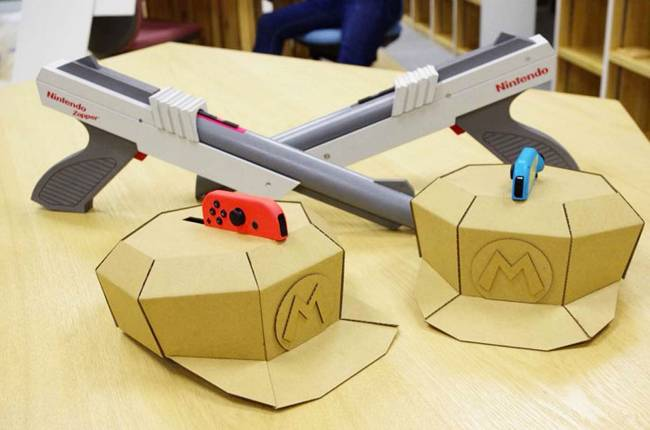 Nintendo's next Labo kit should include these laser tag guns