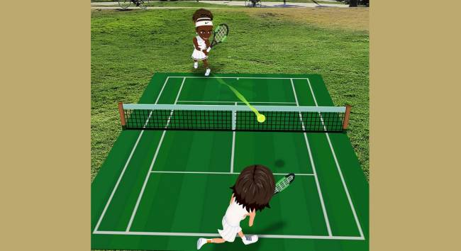 Snapchat's new lens lets you play tennis against Serena Williams