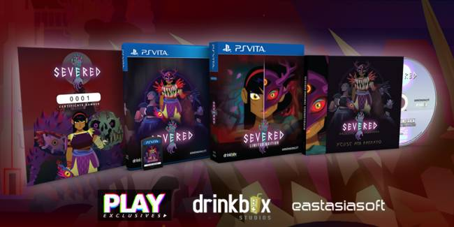 'Severed' gets a lavish PS Vita physical release