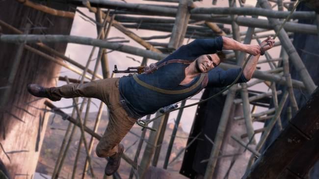 Uncharted's Nathan Drake isn't a bullet sponge after all