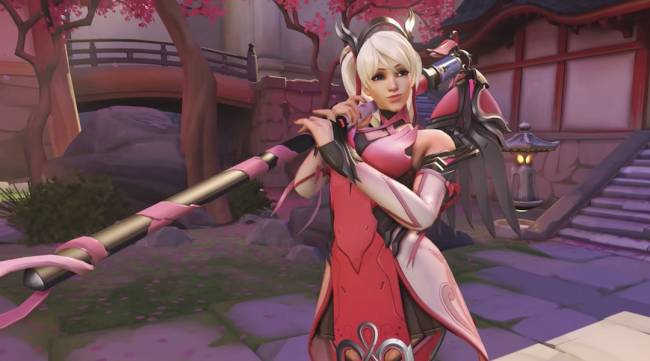 'Overwatch' skin raised more than $10 millon for breast cancer research