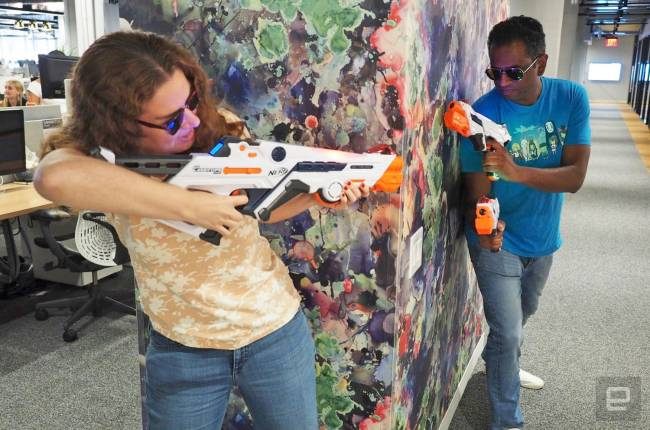 Nerf's latest laser tag kit takes a cue from FPS games