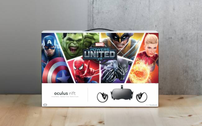 Oculus' Marvel Rift bundle lets you play as Hulk and Wolverine