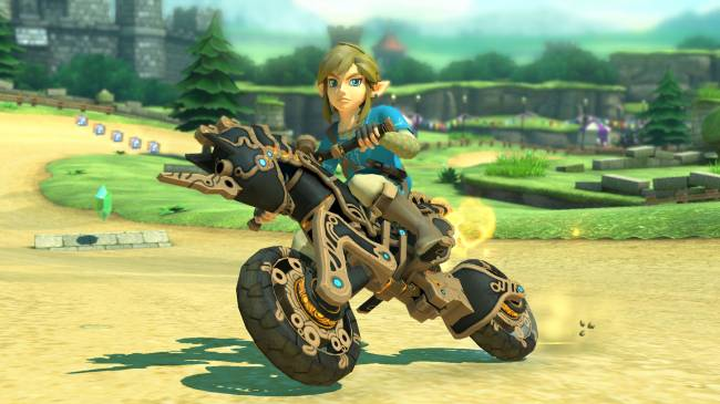 'Mario Kart 8 Deluxe' update adds Link from 'Breath of the Wild'