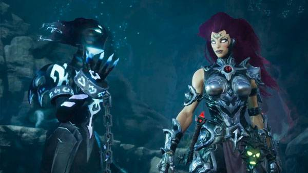 Darksiders III boss fight gameplay