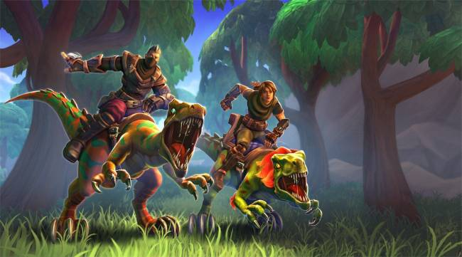 Realm Royale Adds Dinosaur Themed Battle Pass