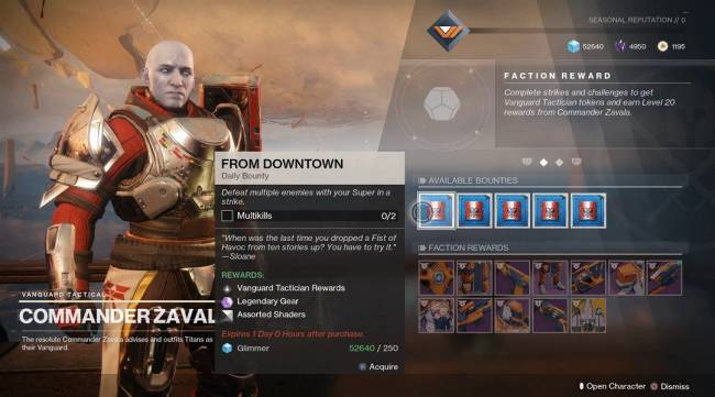 Destiny 2 Update Adds New Exotic Catalysts, Bounties, and More