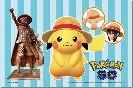 Pokémon GO's Next Collaboration Is With One Piece, Adds A Special Straw Hat Pikachu On July 22