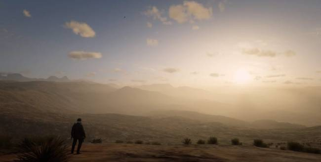 Red Dead Online Players Uncover a Strangely Beautiful World Beyond the Map