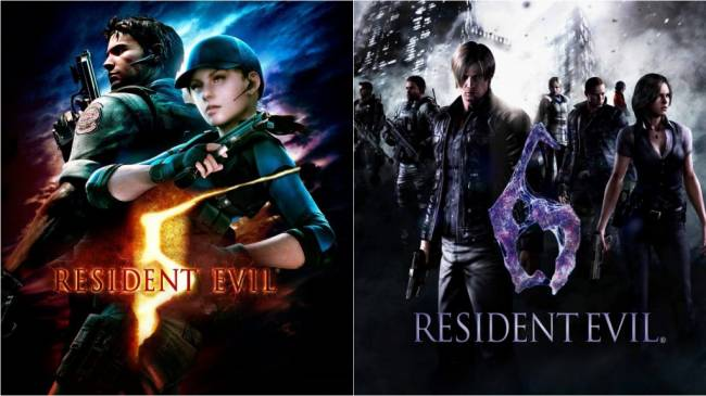 Resident Evil 5 and Resident Evil 6 Come to Switch in October