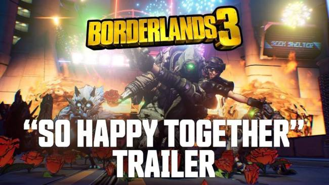 "Borderlands 3 ""So Happy Together"" Trailer is Extremely Trippy"