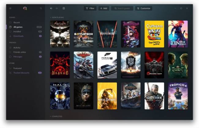 GOG Galaxy 2.0 States Its Case To Be Your One PC Library To Rule Them All