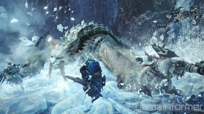 Monster Hunter World: Iceborne Bestiary Day 1 – The Saber-Toothed Barioth