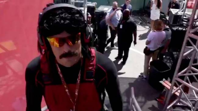 Dr Disrespect Explains Bathroom Incident On Behalf Of His Brand