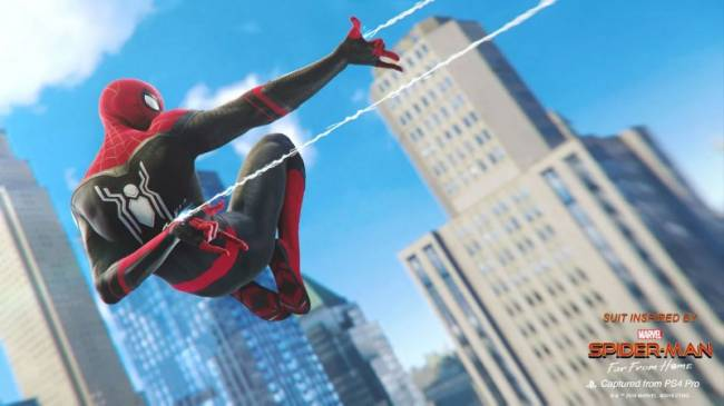 Spider-Man Gets Two Free Suits To Mark Far From Home's Release