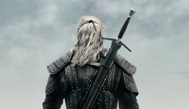 The Witcher TV series on Netflix now has a poster and a logo