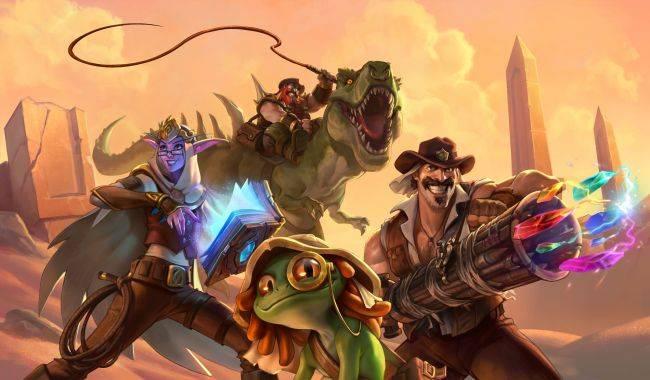 Hearthstone's next expansion is Saviors of Uldum, out August 6