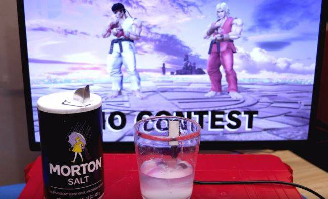 This controller mod uses actual salt to rage quit games