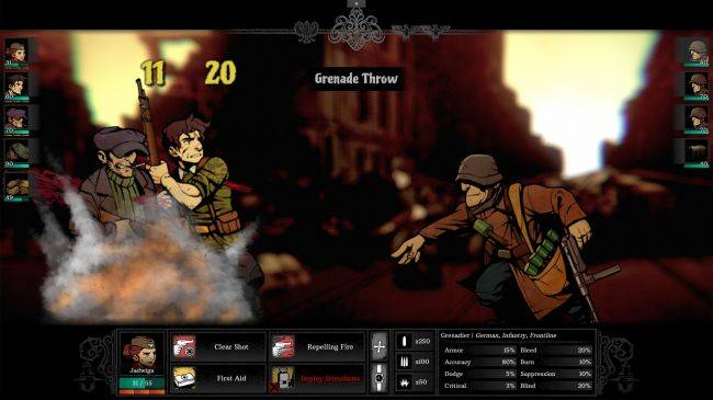Warsaw is a striking World War 2 RPG coming in September