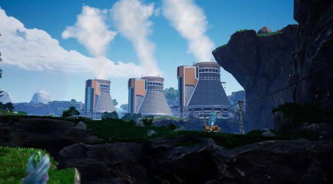 Satisfactory goes nuclear with its second update