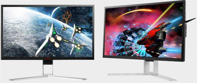 AOC launches a pair of fast FreeSync monitors as new GPUs arrive