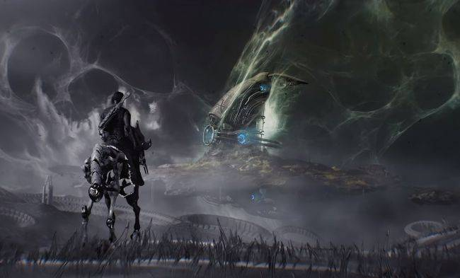 Warframe is getting a third open-world zone and it looks trippy
