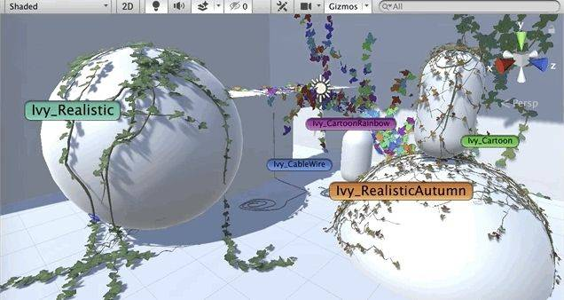 This free open-source tool can help game developers make procedural ivy