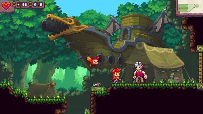 Eagle Island, a platformer about owl-hurling, is out now