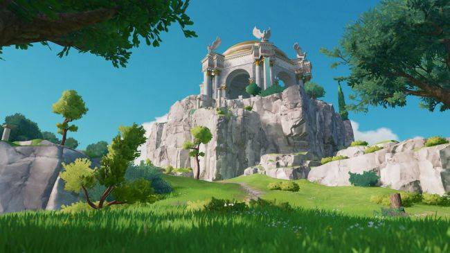 Gods & Monsters is an open-world RPG with stamina and resource management