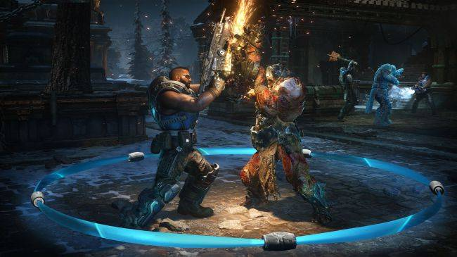 Gears 5's multiplayer reveal looks fluid, still all about shotguns