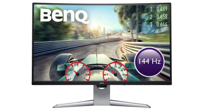 Save £100 on a terrific curved BenQ gaming monitor right now for prime Day