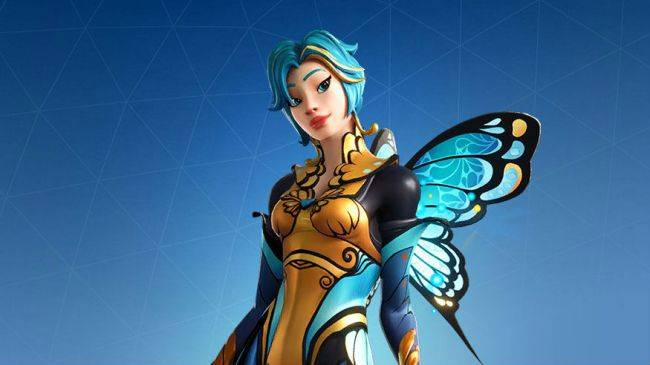 Float like a butterfly, sting like a different butterfly with Fortnite's newest skins