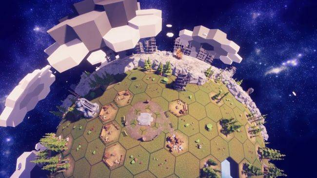 Before We Leave is a 'chill-out' interplanetary city building game