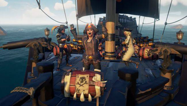 Sea of Thieves' Black Powder Stashes update is live