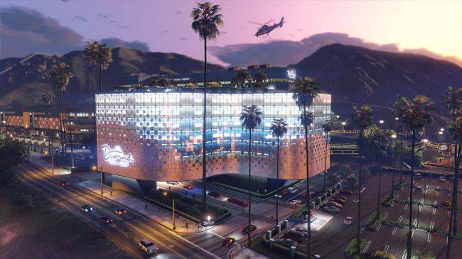 GTA Online's casino update is out next week, here's the trailer