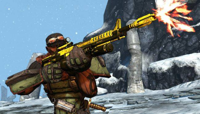 The original Borderlands is free on Steam for the weekend