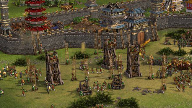 Stronghold: Warlords wants to improve the series' issues with walls and unit formations