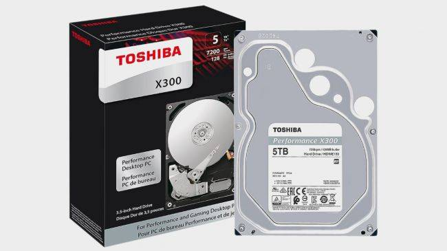 This 5TB Toshiba X300 hard drive is only $100 on Newegg