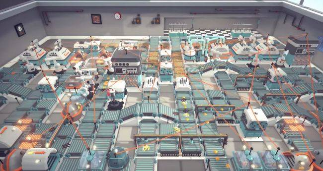 Automachef, the game about churning out automated meals, is out today