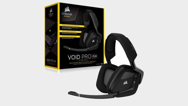 Get the Corsair Void Pro wireless headset for $60, its lowest ever price today
