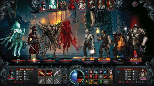 Iratus: Lord of the Dead is like Darkest Dungeon, except you're the bad guy